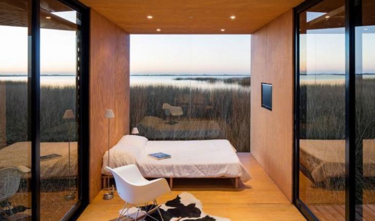 Goedkope Prefab Woningen : Kleine geprefabriceerde woning van slechts vierkante meter